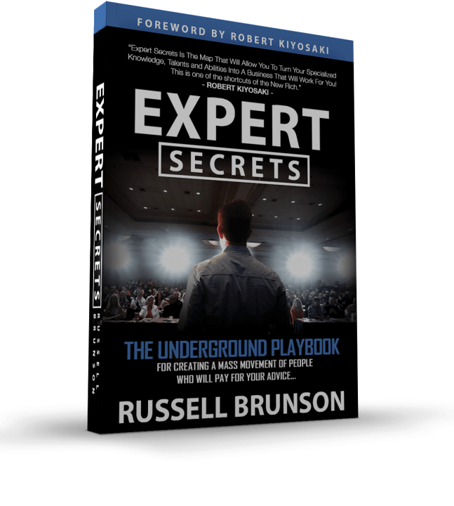 Expert Secrets book review by Russell Brunson