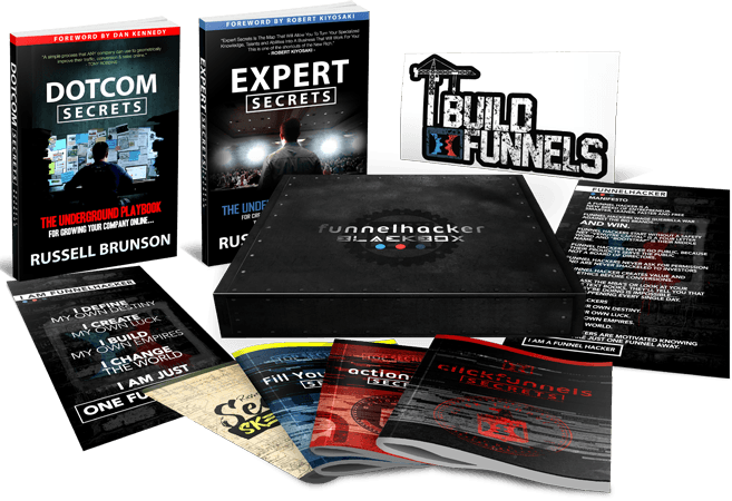 Funnel hacker blackbox expert secrets