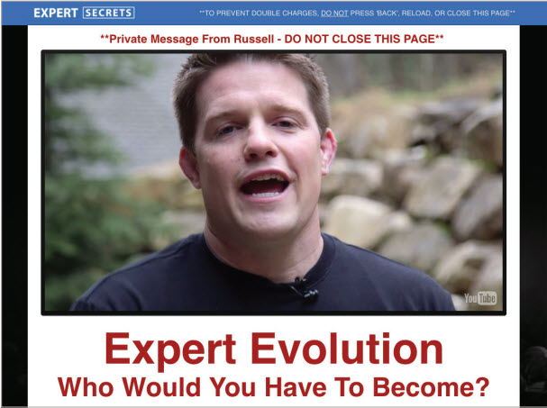 Expert Secrets OTO