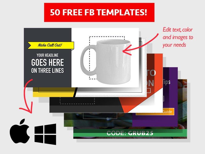 Facebook ads template - marketing funnel