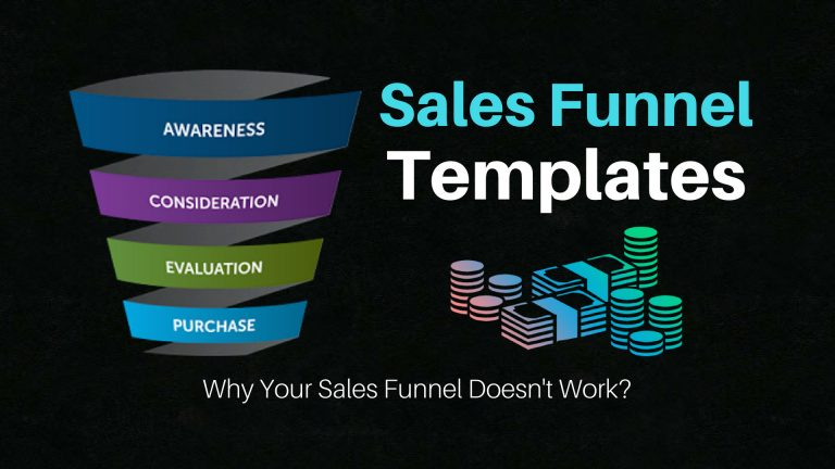 Sales Funnel Template FREE download & why your sales funnel not work