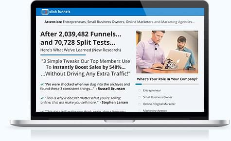 Clickfunnels special webclass training