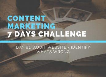Content marketing challenge_ Audit website