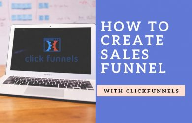 How to create sales funnel with Clickfunnels