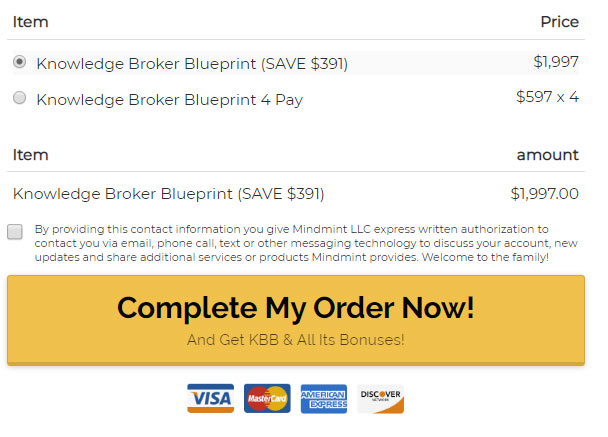 Kbb-Broker-Blueprint-funnel-price