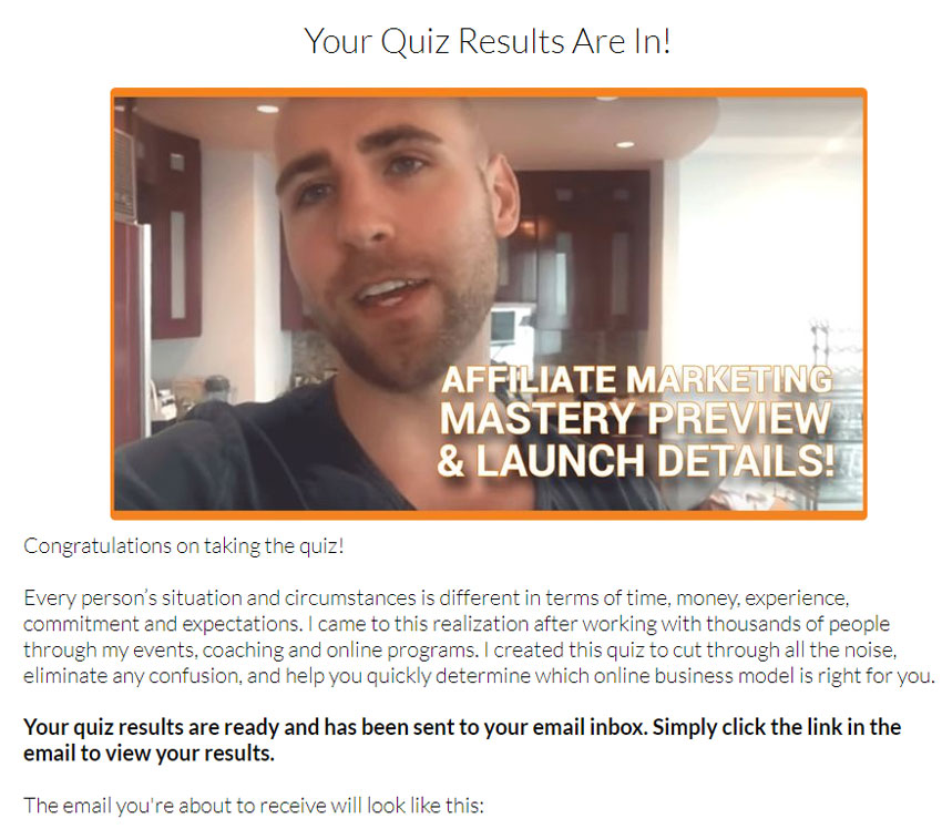Project-life-mastery-funnel-quiz-results