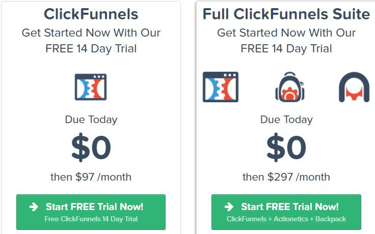 clickfunnels cost