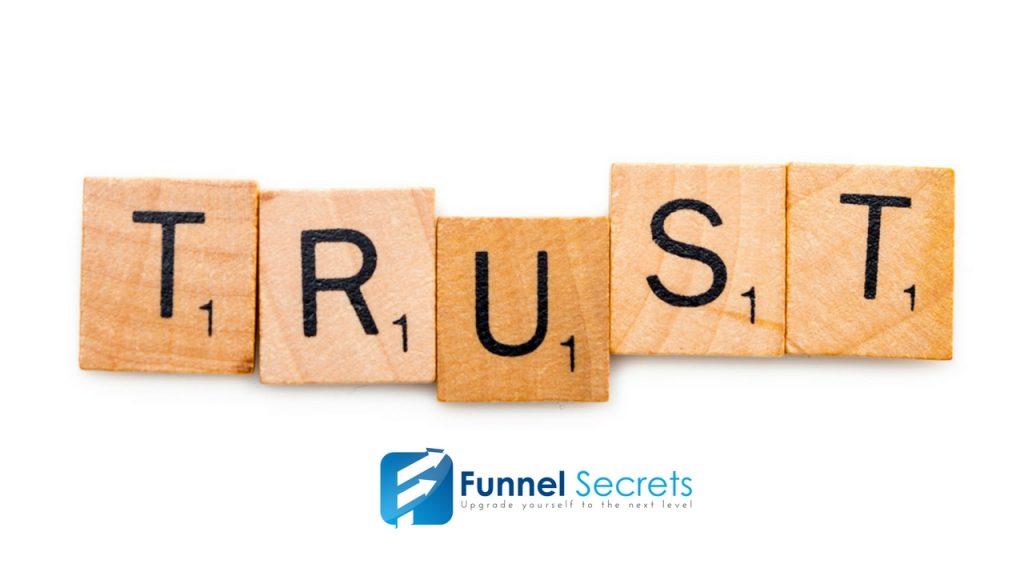 content marketing - trust