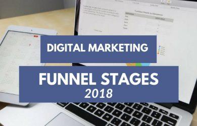 digital Marketing funnel stages 2018
