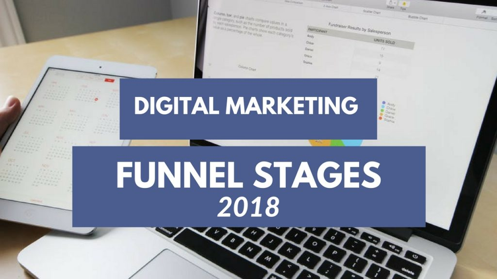 digital Marketing funnel stages 2018