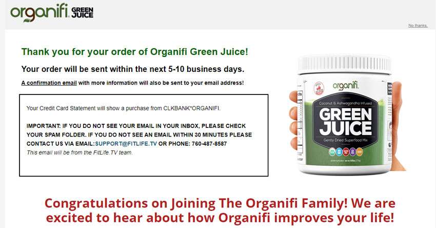 organifi-funnel-pre-thank-you-page