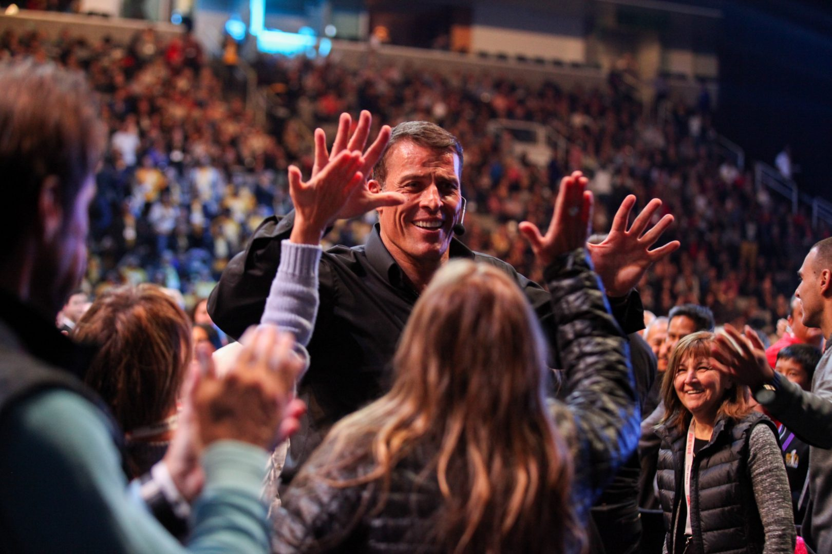 sales funnel examples ultimate power - Tony robbins
