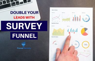 Double your leads with survey funnel