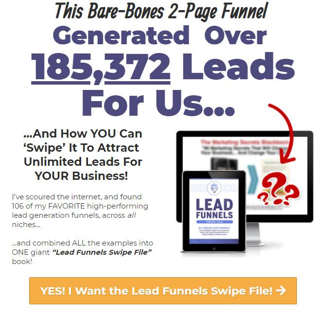 Lead funnels book tripwire