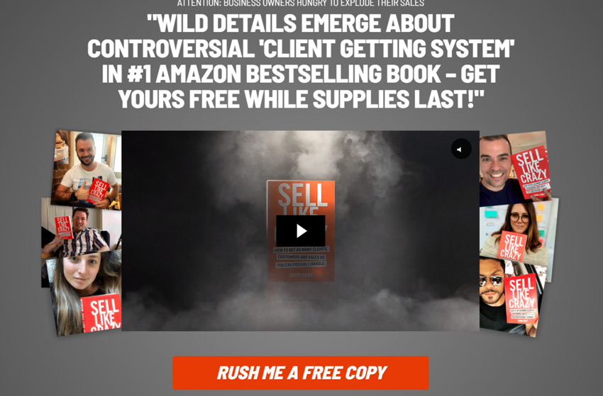 Sell Like Crazy book free and shipping