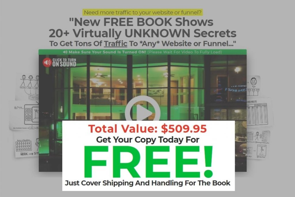 Traffic secrets book free and shipping