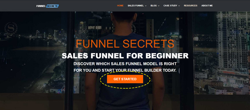 funnel-secrets-home-page