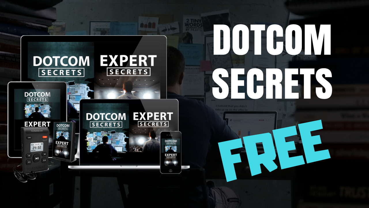 dotcom secrets - marketing book for beginners