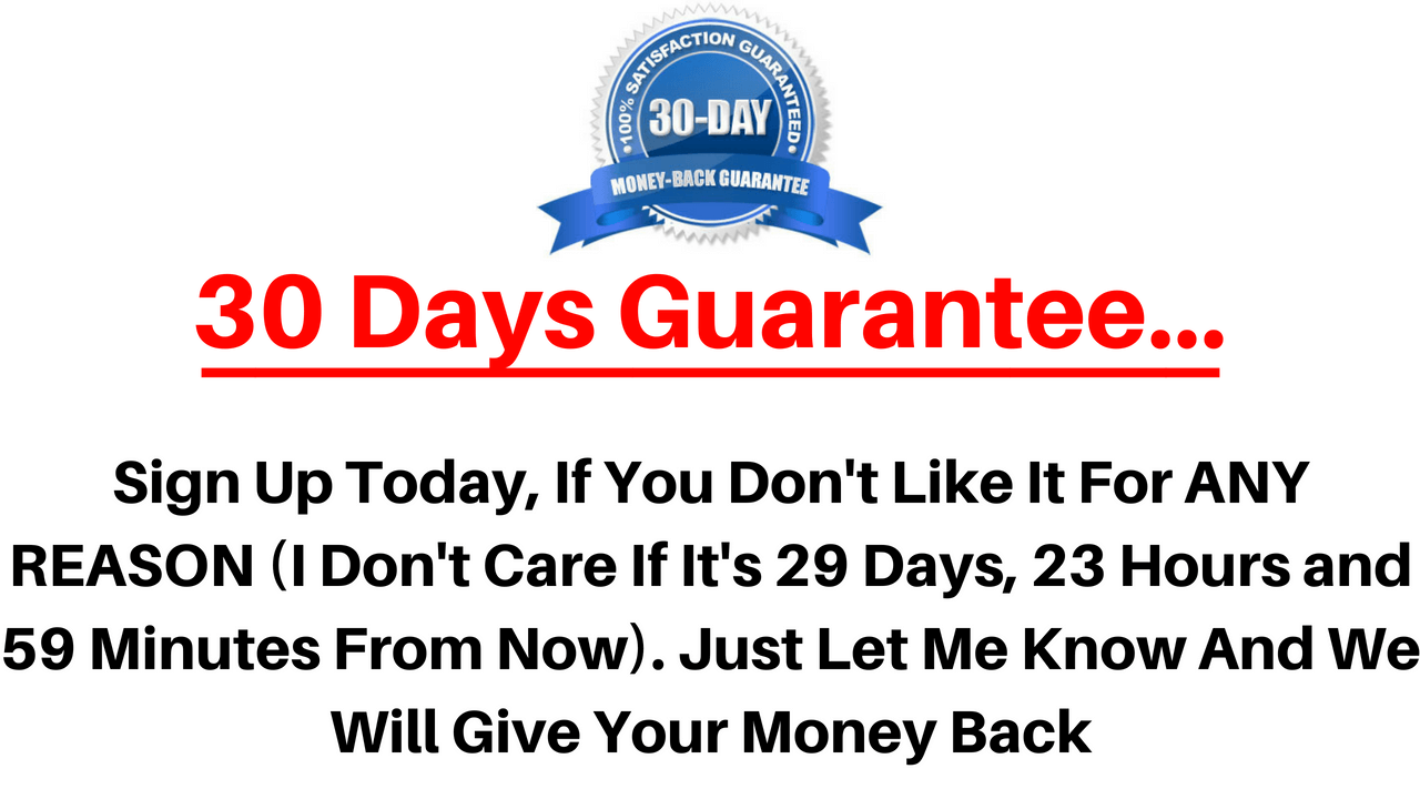 Clickfunnels 30 Days money back Guarantee
