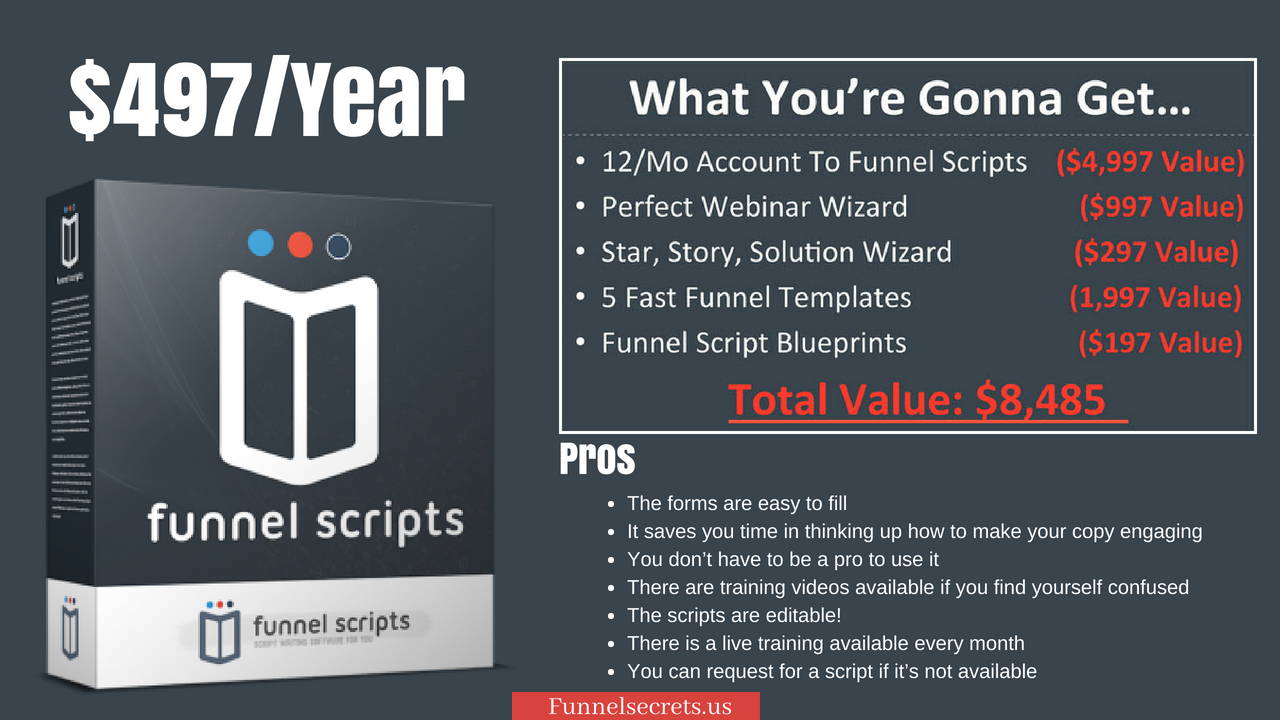 Funnel Scripts Price - Funnel secrets