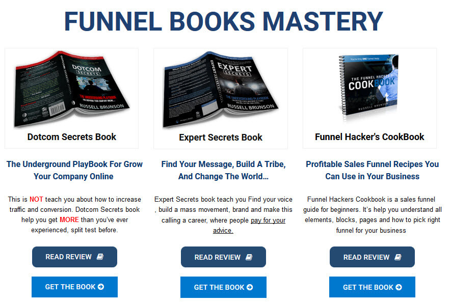 Funnel book mastery - marketing funnel