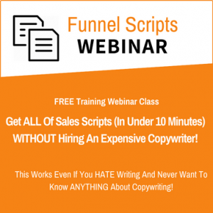 funnel scripts webinar