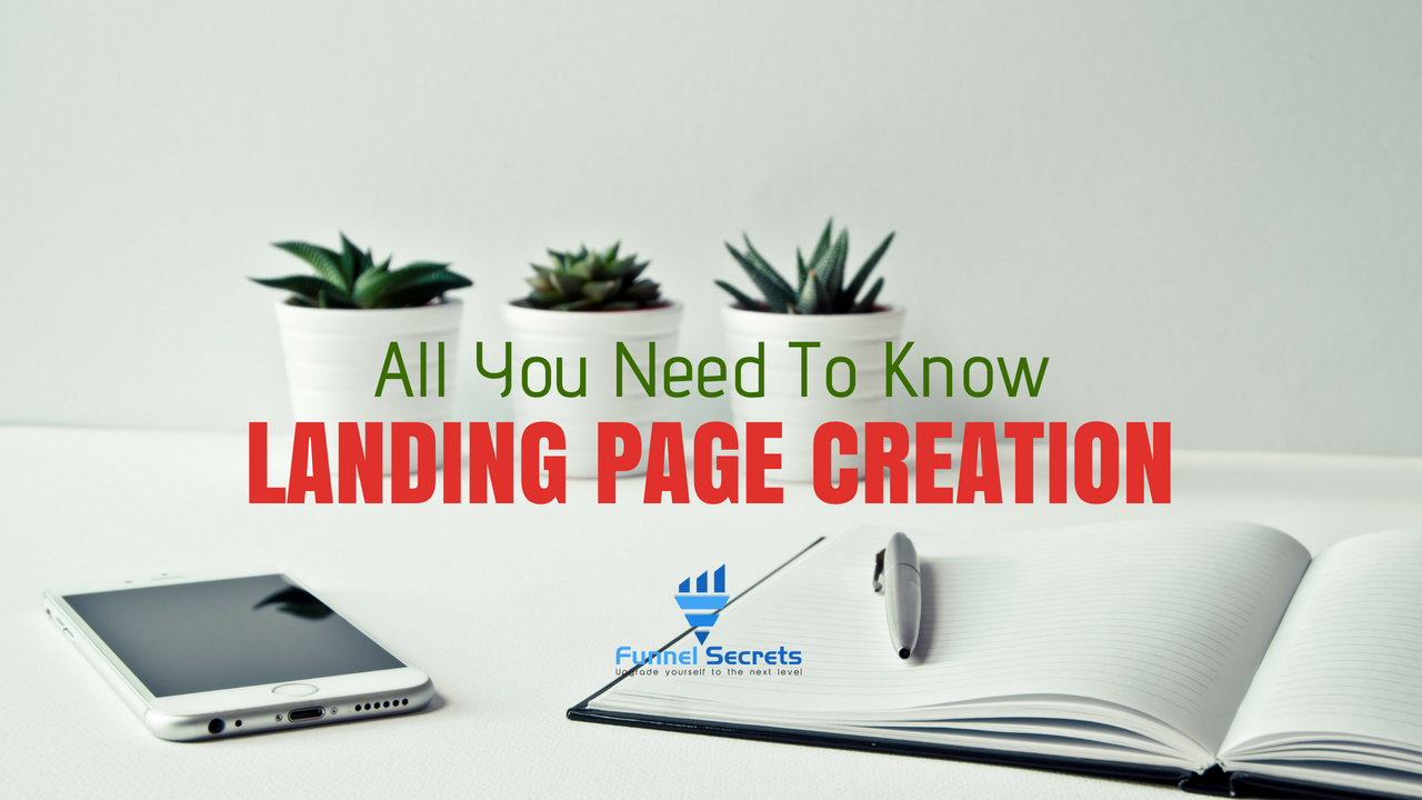 landing page creation 2018 – 3 types of high converting landing page
