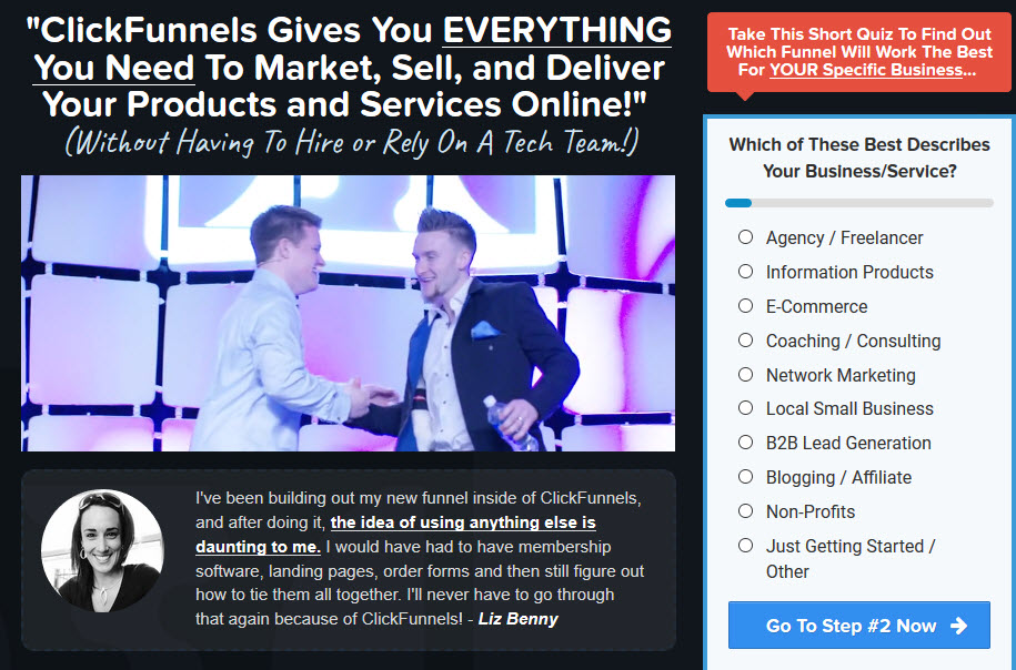 Clickfunnels login - sales funnel software