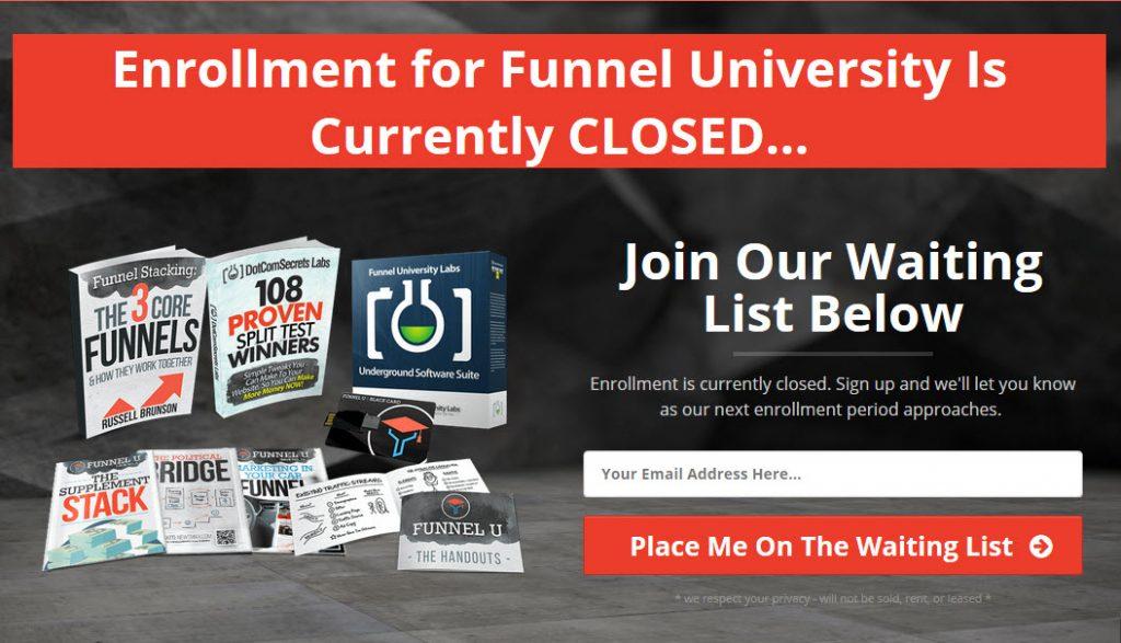Funnel university login