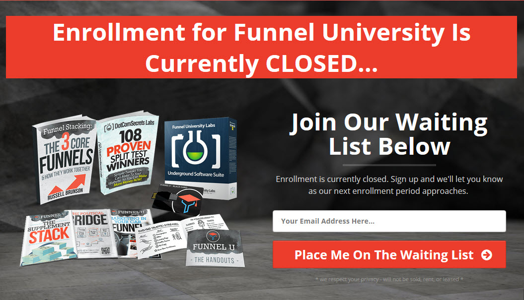 Funnel university login