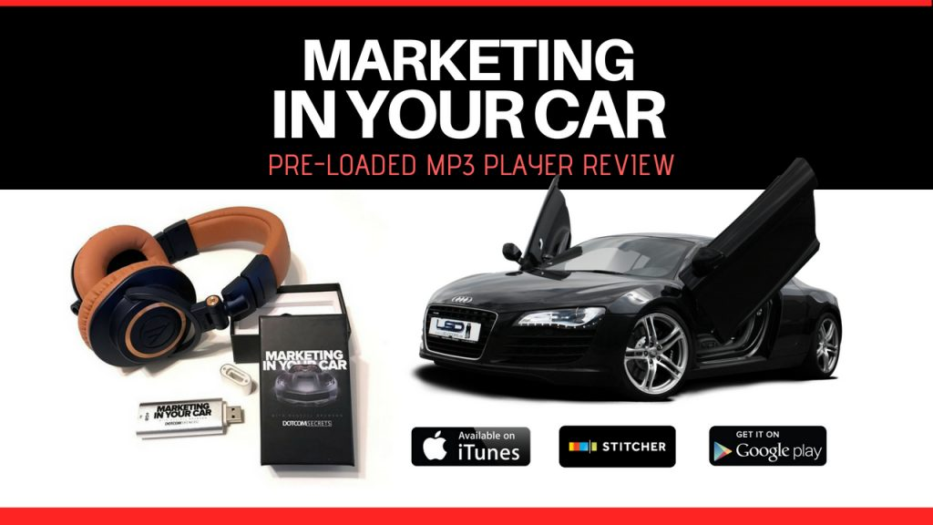 Marketing In Your Car Podcast Review _ FREE Pre-Loaded mp3 player