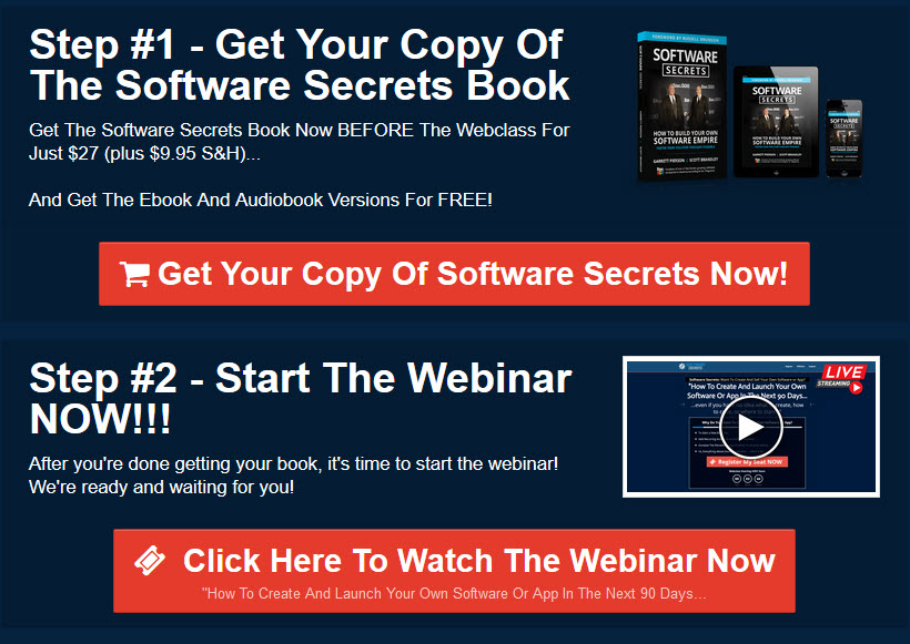 Software secrets book download page