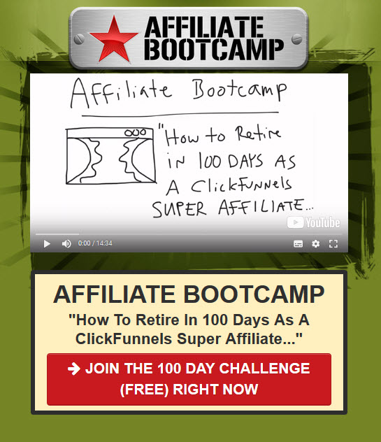 affiliate bootcamp sign in - Funnel Secrets