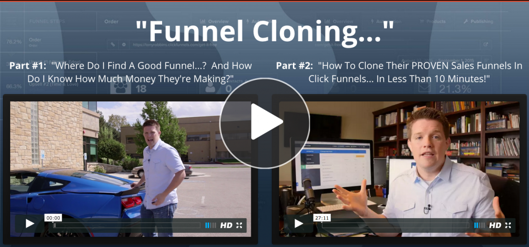 funnel cloning by russell brunson