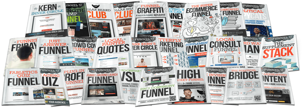 funnel university book cover for free