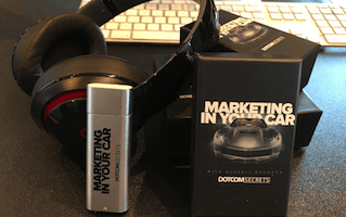 marketing in your car mp3 player