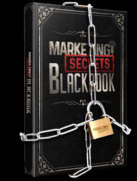 marketing secrets blackbook Russell Brunson