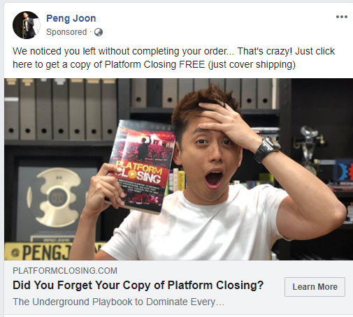 platform closing retargeting facebook