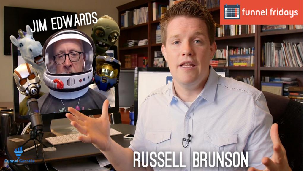 Funnel Fridays Russell Brunson - marketing funnel builder