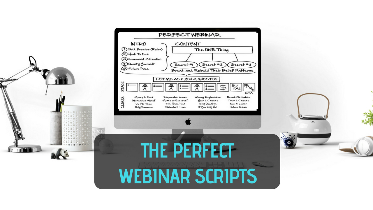 Perfect Webinar Script - The Ultimate Guide To Sell High-Ticket Products