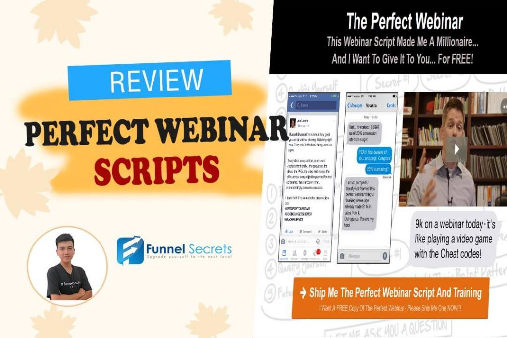 Russell Brunson Perfect Webinar slides Review