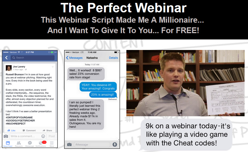 The perfect webinar scripts russell brunson