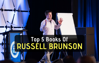 Top 5 Russell Brunson Books you can get for FREE that help grow company online