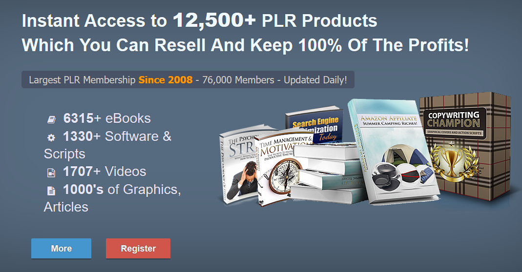 affiliate marketing PLR - Private Label Rights