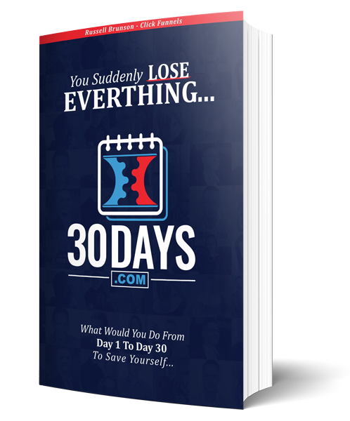 the 30 days hardcover book