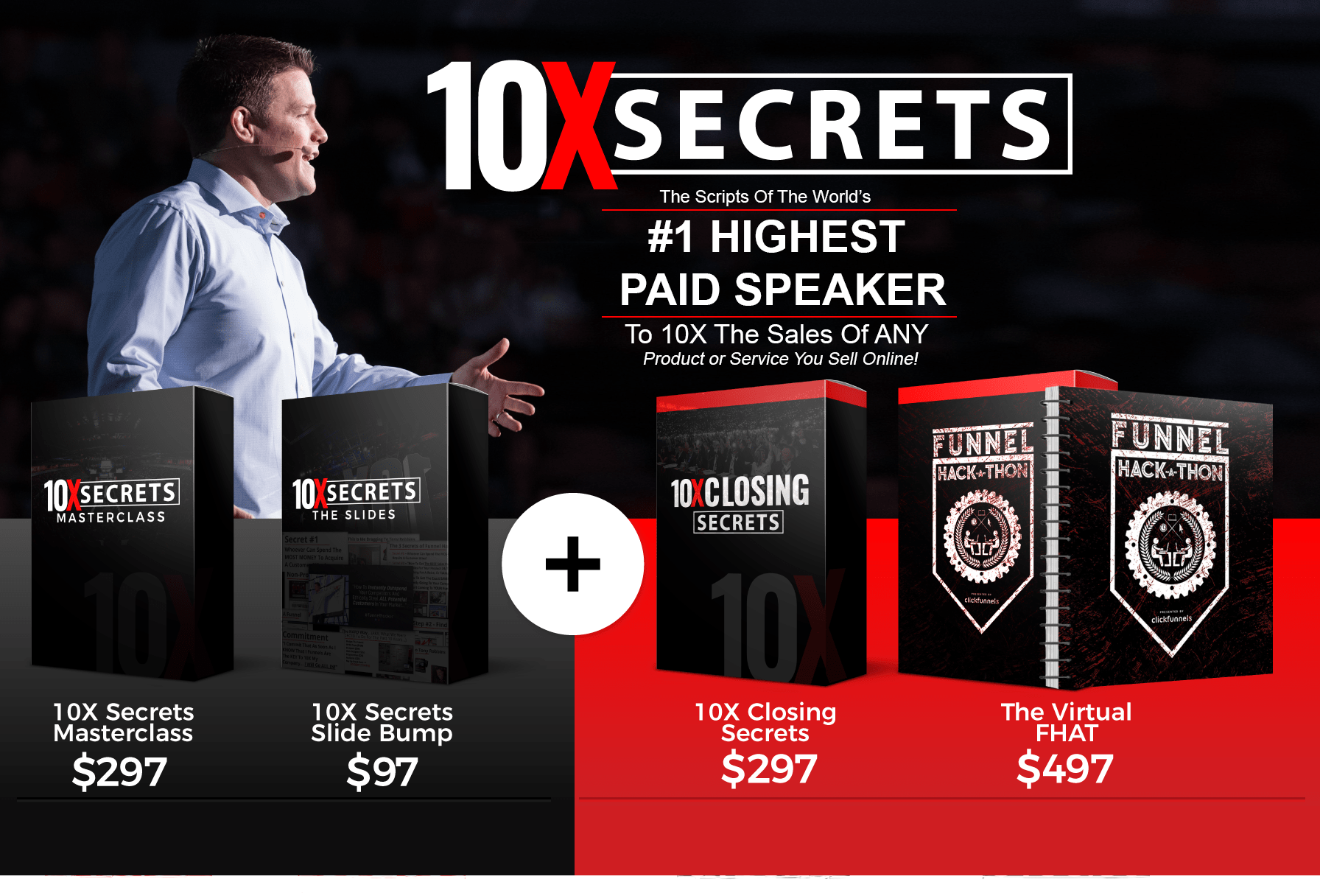 10X secrets masterclass review russell brunson - pricing