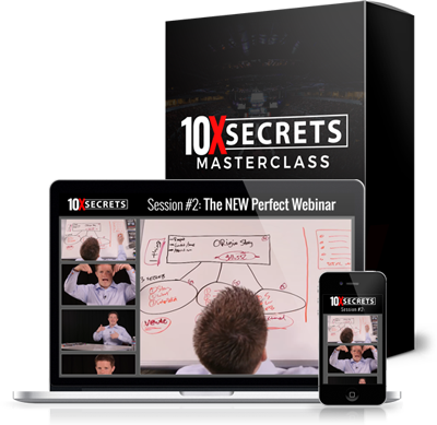 10x secrets masterclass - perfect webinar