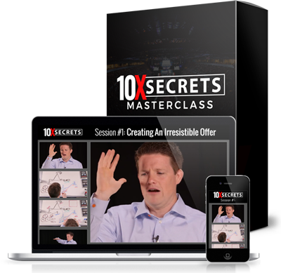 10x secrets masterclass review - creating an irresistible offer
