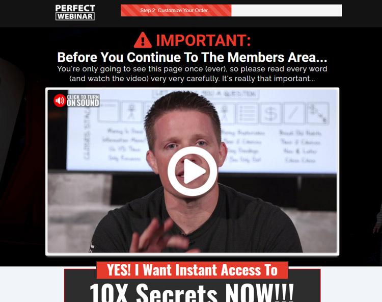 10x secrets official page