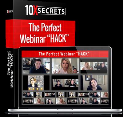 """bonus 2 The Perfect Webinar """"HACK"""""""